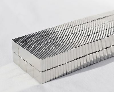 2550100250 Square Magnets 12 X 12 X 116 Strongest N52 Neodymium A4