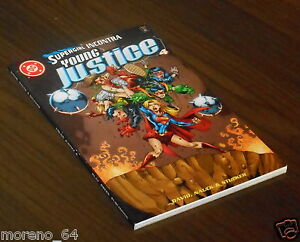 YOUNG JUSTICE TP 4 Peter David (Play Press) COME NUOVO vedi foto fronte-retro - Italia - YOUNG JUSTICE TP 4 Peter David (Play Press) COME NUOVO vedi foto fronte-retro - Italia