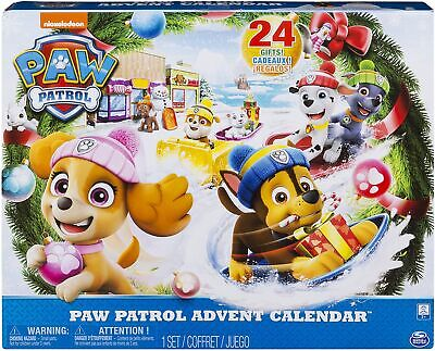 Paw Patrol 6045038 – Advent Calendar with 24 Colle Countible Plastic Figures TOY