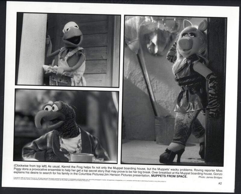 Muppets From Space '99 KERMIT THE FROG GONZO MISS PIGGY