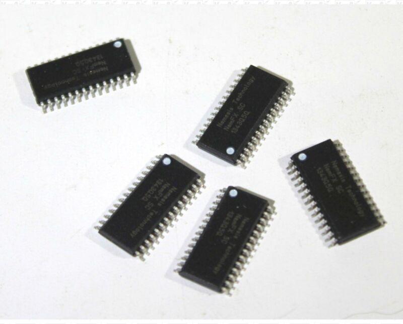 Lot Of 5 Nemesis Technology NemFX 1343Q5Q Surface Mount IC Chips