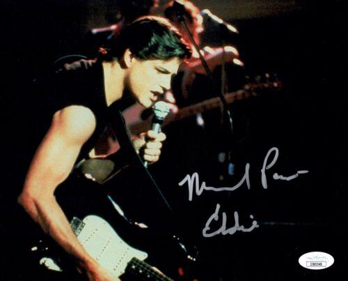 MICHAEL PARÉ Signed 8x10 EDDIE & THE CRUISERS Photo PARE Autograph JSA COA Cert