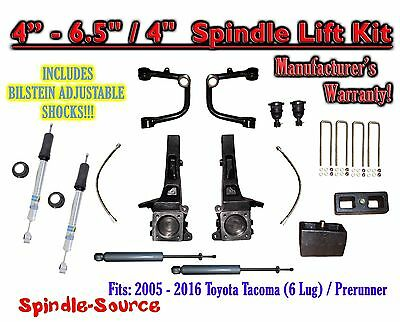 "05 - 16 Toyota Tacoma Prerunner 6.5"" / 4"" LIFT Kit, Bilstein 5100 Shocks, rs UCA"