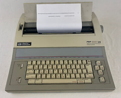 Smith Corona Pwp 3850 Ds Personal Word Processor Office System Tested