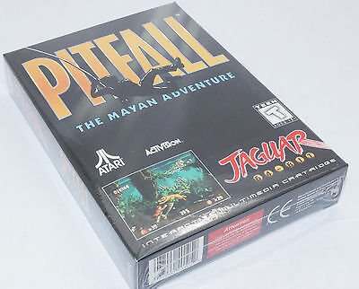 ATARI Jaguar - Pitfall - Brand Factory Sealed