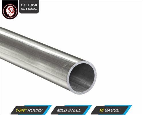 "1-3/4"" Round Tube - Mild Steel - 16 gauge - ERW - 11"" inch long"