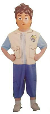 Rubie's Go Diego Go! Complete Costume Set with mask for Small Child Size - Go Diego Halloween Costume