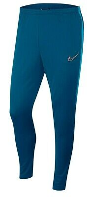 NIKE Men's Academy Tapered Football Soccer Pants Jogger Zip Pockets AJ9729-301