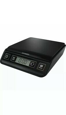 Black Dymo Digital Postal Shipping Scale M3. 3lb Capacity 1.3kg . New J2