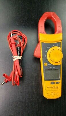Fluke 902 True-rms Hvac Clamp Meter With Leads