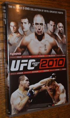 UFC The Best of 2010 DVD Brock Lesnar v Cain Velasquez Anderson Silva MMA (Best Of Cain Velasquez)