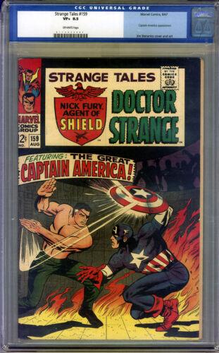 Strange Tales #159 CGC 8.5 VF+ Universal CGC #0115933007