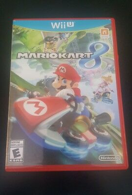 Mario Kart 8 (Nintendo Wii U, 2014) Complete & Tested Rated E Free Shipping (G1)