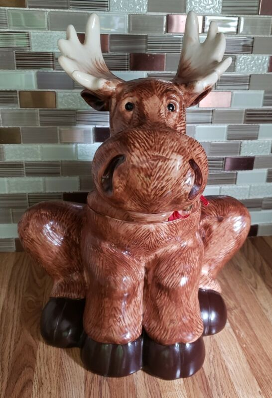 MOOSE Cookie Jar Woodland Walk