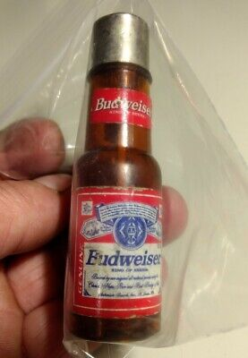 Vintage Collectible Budweiser Bottle Advertising Lighter-- Not Working - Pre-own