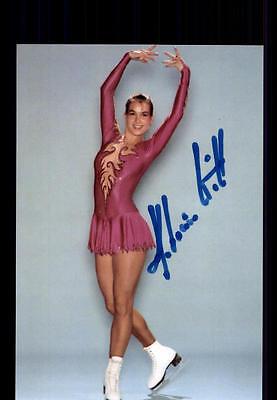 Katarina Witt  ++Autogramm++ ++Eiskunstlauf Legende ++ CH 134