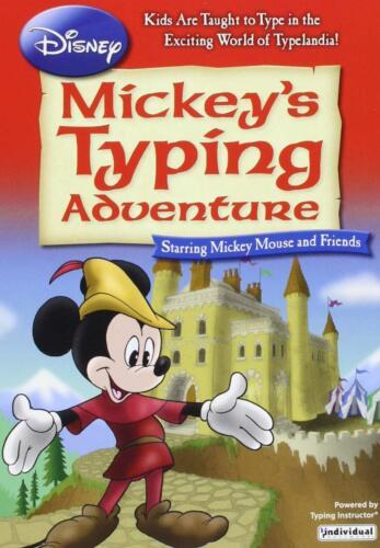 Mickey's Typing Adventure Windows EMM-MTA