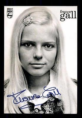 France Gall ++Autogramm++ ++Französische Musik Legende++CH 4