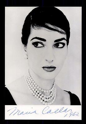 Maria Callas ++Autogramm++ ++Klassic Musik Legende++CH 3