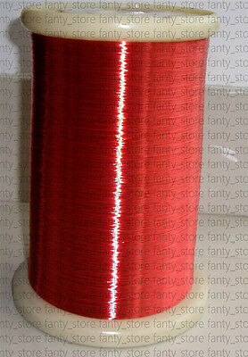 Polyurethane Enameled Copper Wire 36 Awg Red Magnet Wire 2uew155 0.12mm A36e Lw