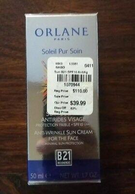 ORLANE PARIS B21 Anti Wrinkle Sun Care Cream for Face w/ Sun Protection SPF 10