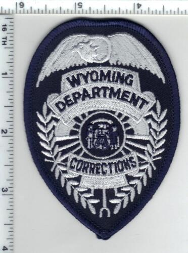 Department of Corrections (Wyoming) 1st Issue Shirt/Jacket Patch