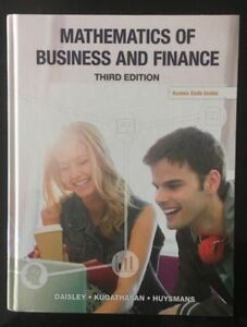 Accounting Principles, Mathematics of Business and Finance