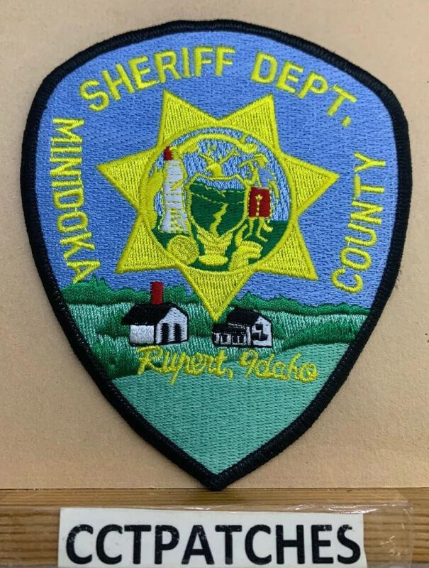 MINIDOKA COUNTY, IDAHO SHERIFF (POLICE) SHOULDER PATCH ID