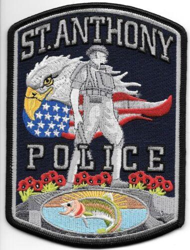 "St. Anthony, Idaho  (3.25"" x 4.5"" size) shoulder police patch (fire)"