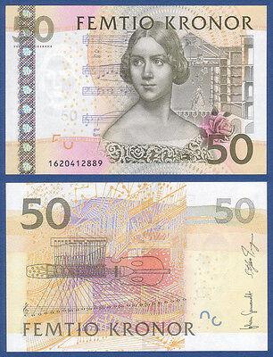 SCHWEDEN / SWEDEN 50 Kronor (201)1 UNC  P.64 c