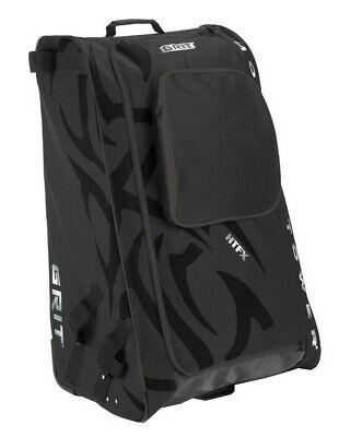 "Grit Inc HTFX Hockey Tower 33"" Wheeled Equipment Bag Black H"