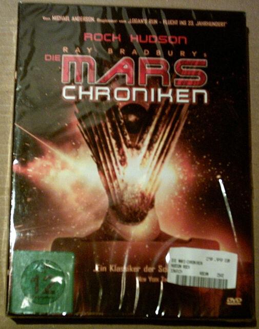 Die Mars Chroniken - Die komplette Serie - OVP in Folie - OOP - Rock Hudson 1980