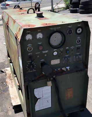 Military Hobart Dcc-353 Perkins 4-236 Diesel 350a Welder 120v 3k Generator