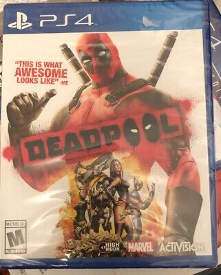 Deadpool [Sony PlayStation 4 PS4, Marvel Activision Action Beat 'Em Up] NEW