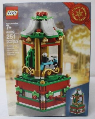 LEGO 40293 Limited Edition Christmas Carousel 251pcs New In Hand Free Shipping