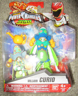 POWER RANGERS DINO SUPER CHARGE VILLAIN CURIO 43219 POISANDRA EVIL - Evil Sidekick