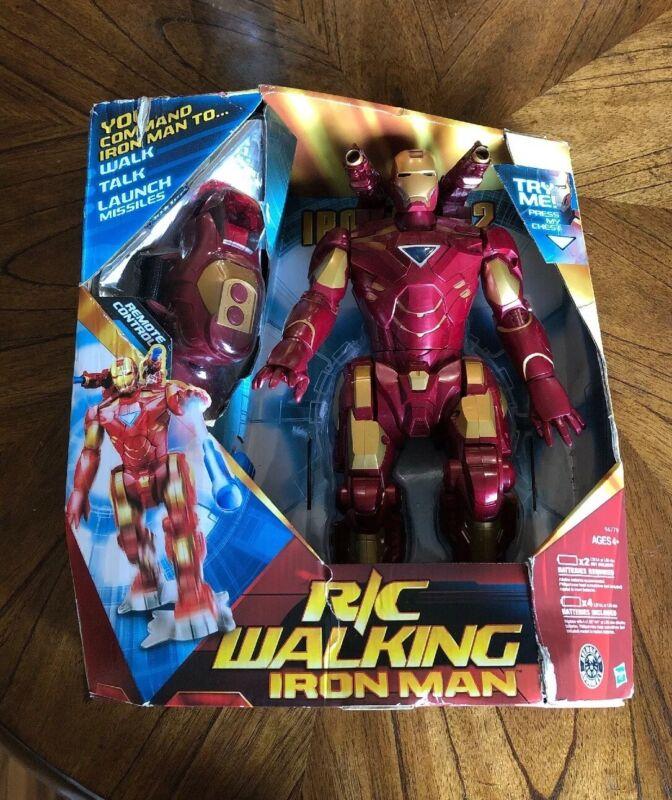 (NEW) Hasbro R/C Remote Control Iron Man 2 Walking Toy - Marvel Avengers - 2010