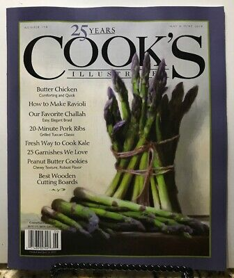 Cooking Spare Ribs - Cooks Illustrated 25 Years Butter Chicken Ribs May/June 2019 FREE SHIPPING JB