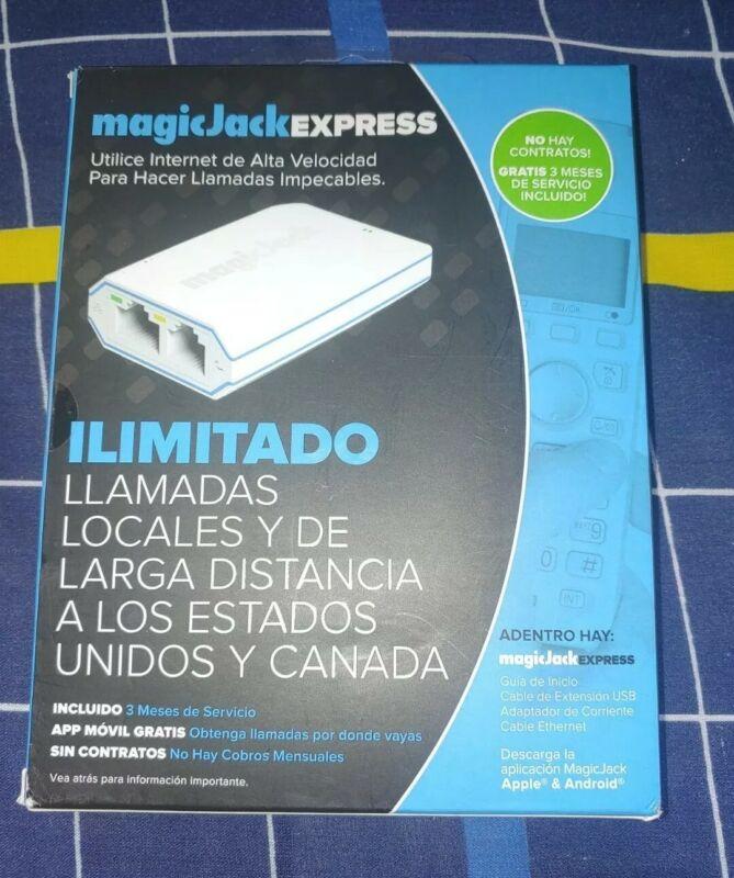 Free Service Magic Jack EXPRESS Digital Phone VoIP Service 3 Months NEW