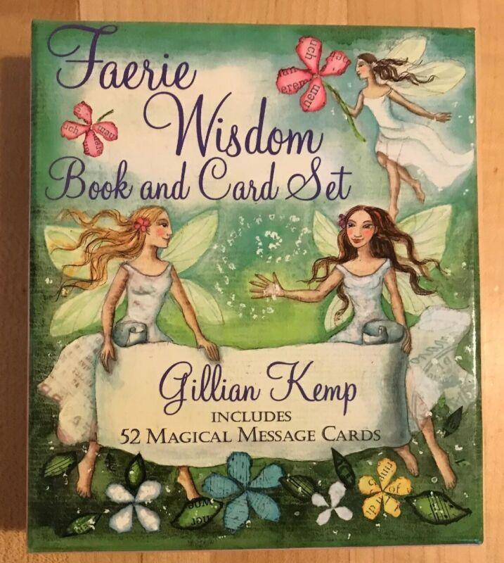 Faerie Wisdom Book Card Set Deck Fortune Future Telling Tarot Reading Predict