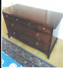 STAG MINSTREL. MAHOGANY CHEST OF 6 DRAWERS.  LINCOLNSHIRE (LN4).