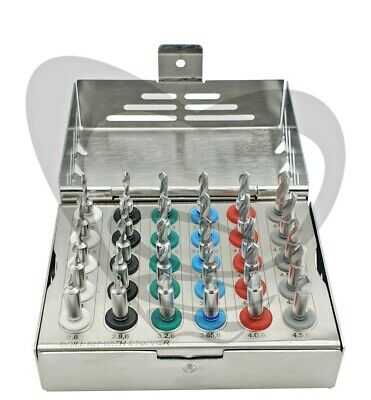 30 Drills Dental Implant Stopper Drills Kit