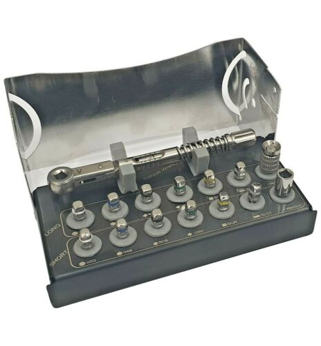 Universal Prosthetic Restoration Implant Abutment Screw Drivers Tool Kit
