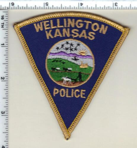 Wellington Police (Kansas) Shoulder Patch - new from 1992