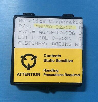 66x Mbc50-22b12 Metelics Capacitor Chip Beamlead 22pf 20 Rf Microwave 66units