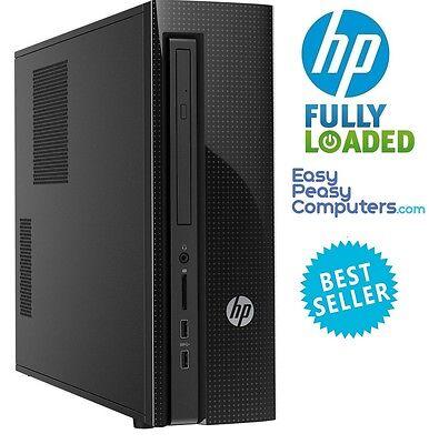 HP Desktop Computer Pavilion Windows 10 4GB 1TB WiFi DVD RW (FULLY LOADED)