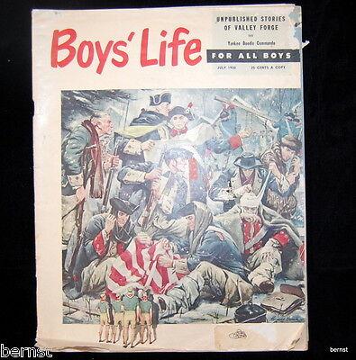 VINTAGE BOY SCOUT- JULY 1950 BOYS' LIFE