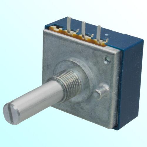ALPS RK27111 single Pot Potentiometer 100K A100K logarithmic RK27 audio taper