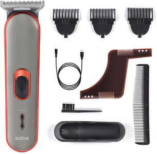 Beard Moustache Hair Clippers Cordless Hair Trimmer Electric Razor USB Charging