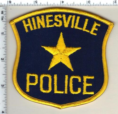 Hinesville Police (Georgia)  Shoulder Patch - new from 1993